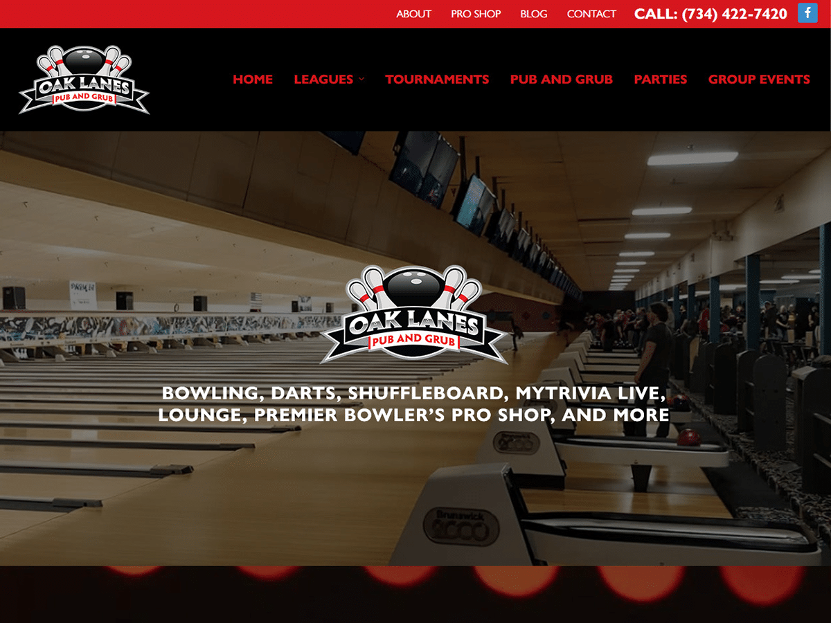 Oak Lanes Launches Website